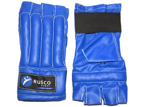 Шингарды RuscoSport, синие, размер ХL