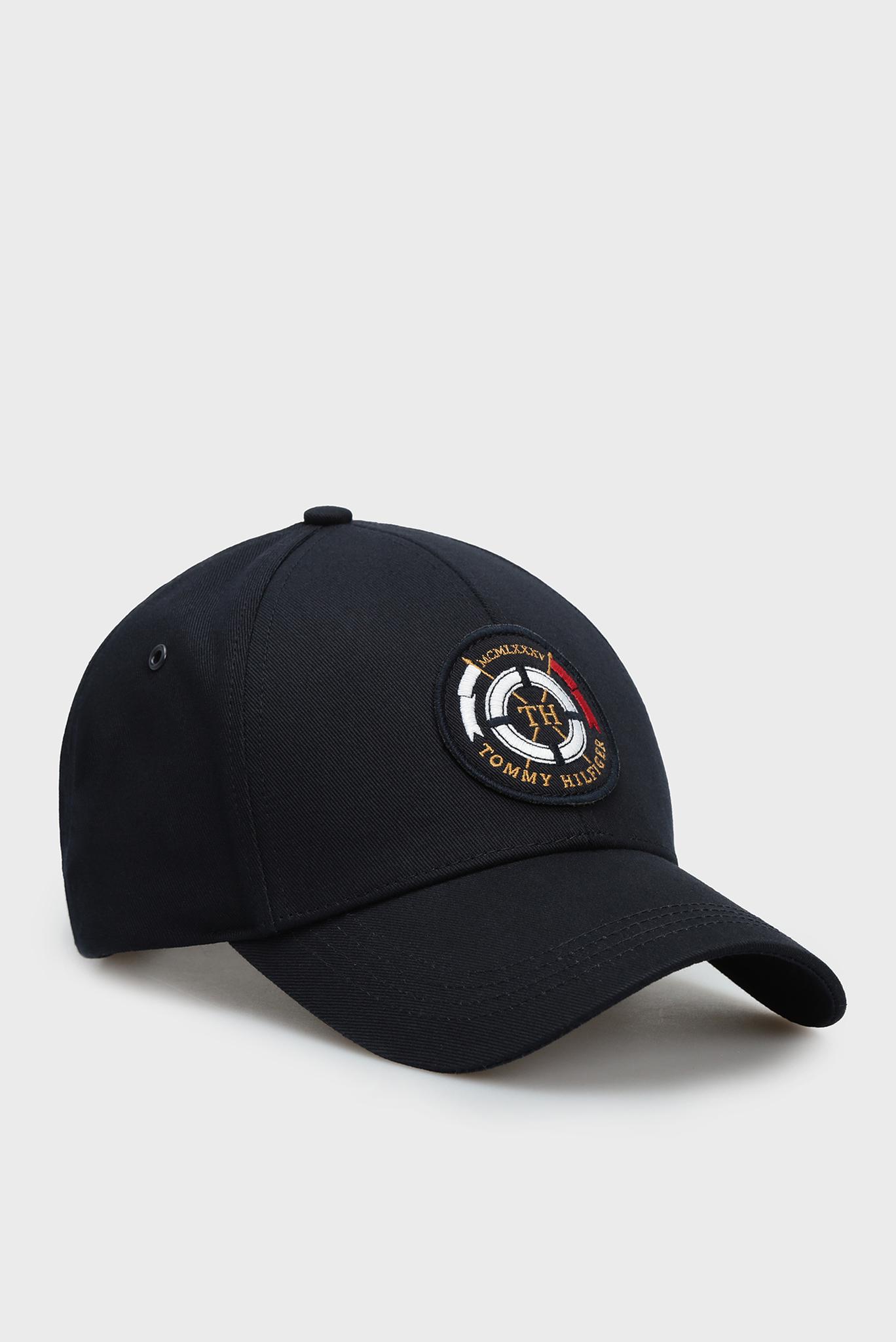 Мужская темно-синяя кепка ROUND PATCH Tommy Hilfiger