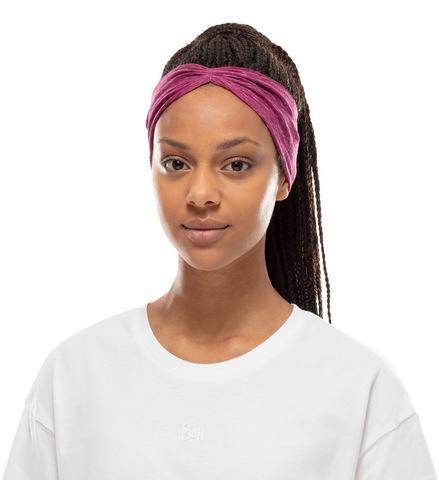 Повязка-чалма летняя Buff Headband Tapered CoolNet Raspberry Htr фото 2