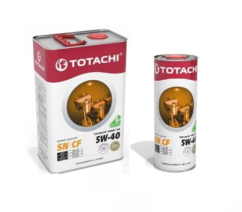 Масло моторное Totachi Niro 5w40