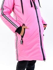 Пальто для девочки Спорт розовый
