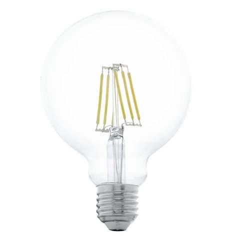 Светодиодная лампа G95 8,5W E27 (теплый свет)