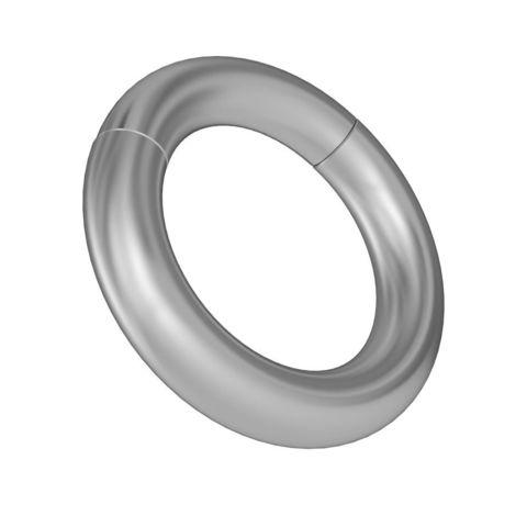 Серебристое магнитное кольцо-утяжелитель