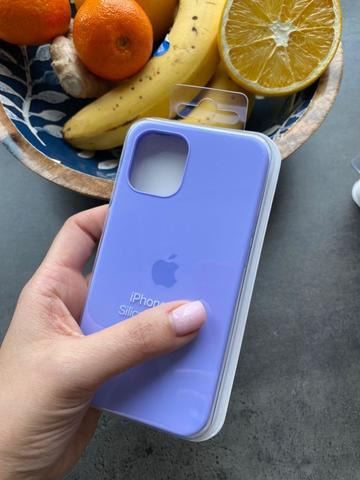 Чехол iPhone 12 (6,7) Silicone Case Full /glycine/