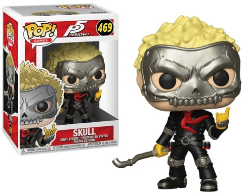 Skull (469) Persona 5 Funko Pop! || Череп Рюдзи Сакамото