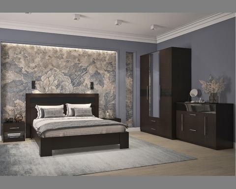 Спальня модульная РОКСАНА венге