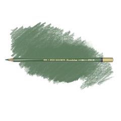 Карандаш художественный акварельный MONDELUZ, цвет 61 зеленый желчный