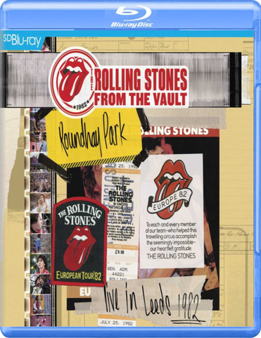 The Rolling Stones / Live In Leeds 1982 (Blu-ray)