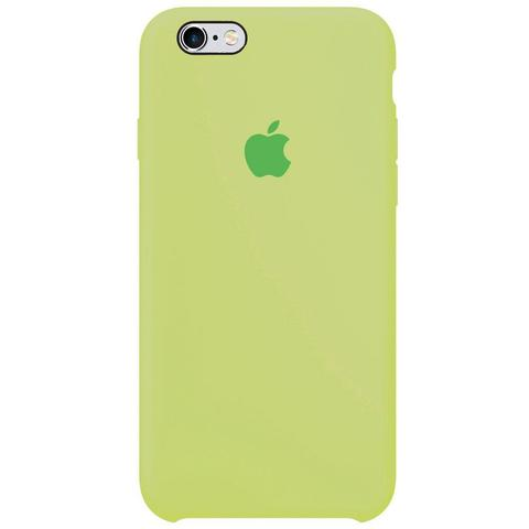 Чехол IP6/6S Silicone Case Green