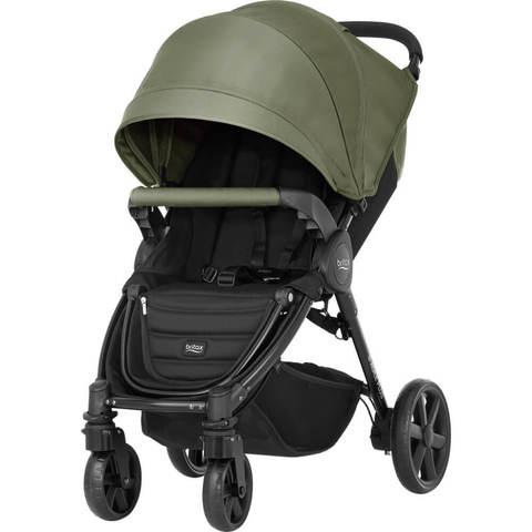 Прогулочная коляска Britax B-Agile 4 Plus Olive Green