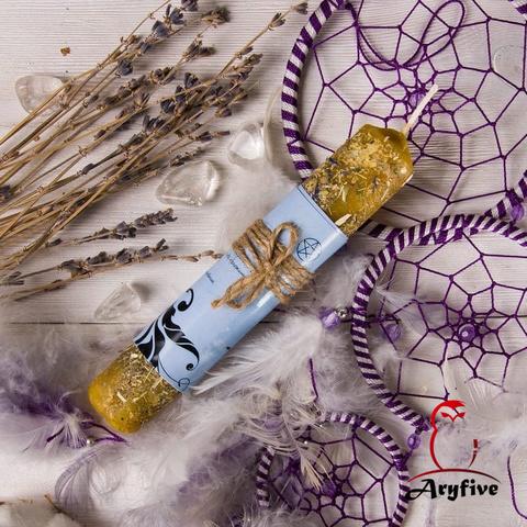 Свеча – ритуал «Гармонизация, спокойствие, сон»