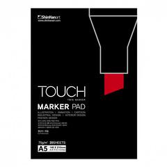 Touch Twin Brush набор маркеров для скетчинга 24 шт в кейсе - двусторонние спиртовые кисть/долото