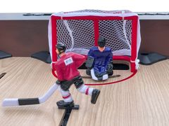 Хоккей «Легенда 17» (141.5 x 72.4 x 81 см, коричневый)