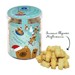 Поиграй и съешь Зимние медвежата детское печенье