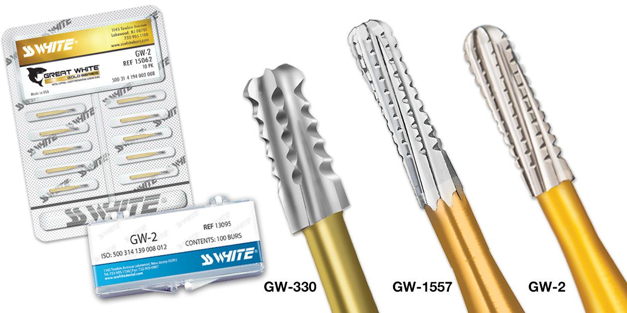 Твердосплавные боры «SS WHITE» серия FG GW II GOLD