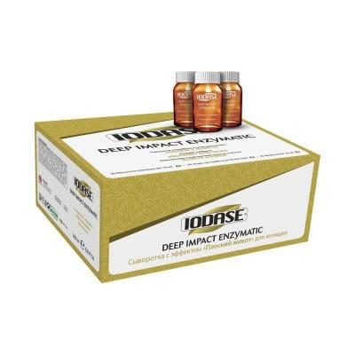Natural Project Iodase Deep Impact: Сыворотка на водной основе против жировых отложений в зонах живота и боков (Iodase Deep Impact Enzymatic), 10*15мл