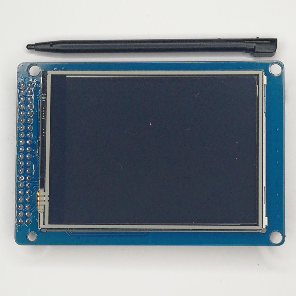 Цветной сенсорный графический TFT-экран 3,2