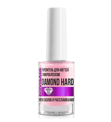 LuxVisage Средство по уходу за ногтями Укрепитель для ногтей с микроблеском DIAMOND HARD 9мл