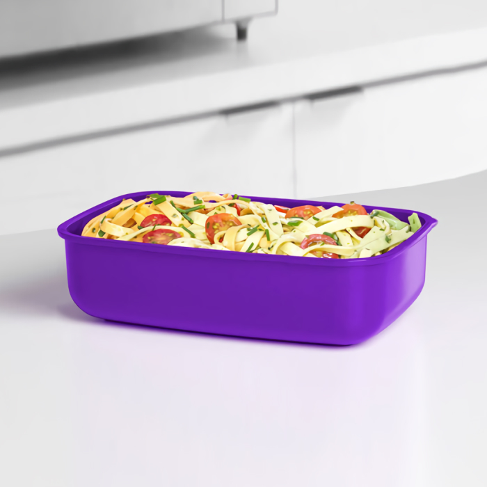 """Контейнер для СВЧ Sistema """"Microwave"""" 1,25 л, цвет Фиолетовый"""
