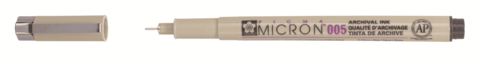 Ручка капиллярная Pigma Micron 0.2мм