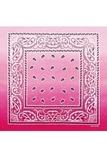 Розовый градиент бандана фото