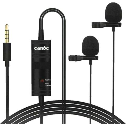 Микрофон петличный Candc DC-C2