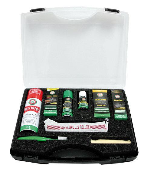 Ballistol Set набор средств по уходу за оружием (9 предметов) 23654