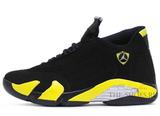 Кроссовки Мужские Nike Air Jordan XIV Retro Black Yellow