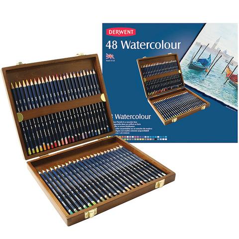 Набор из 48 акварельных карандашей Derwent Watercolour
