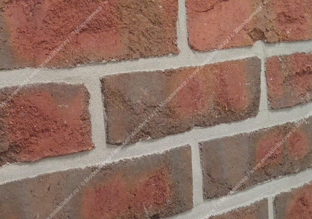 Roben - Wasserstrich, buntgeflammt, NF14, 240x14x71 - Клинкерная плитка для фасада и внутренней отделки