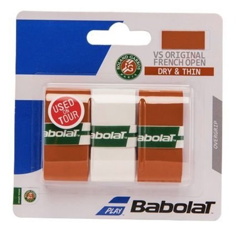 Намотки теннисные Babolat VS Grip Original Roland Garros / 653041-266