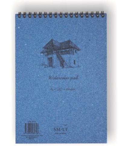 Скетчбук для акварели Authentic Watercolor 280г/м2 (целлюлоза) А5 20л спираль по короткой стороне