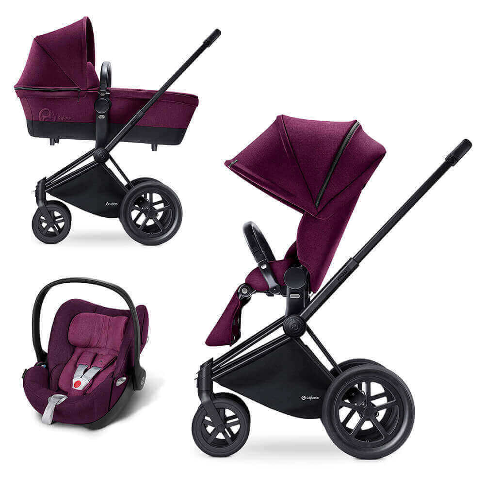 Цвета Cybex Priam 3 в 1 Детская коляска Cybex Priam Lux 3 в 1 Mystic Pink шасси Matt Black/All Terrain cybex-priam-matt-black-mystic-pink-all-terrain-black.jpg