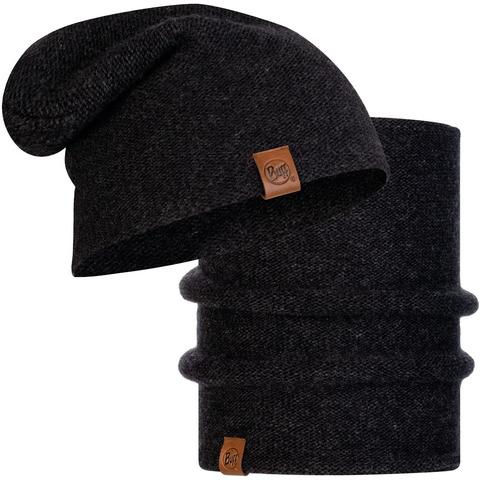 Комплект шарф-шапка вязаный Buff Colt Graphite фото 1