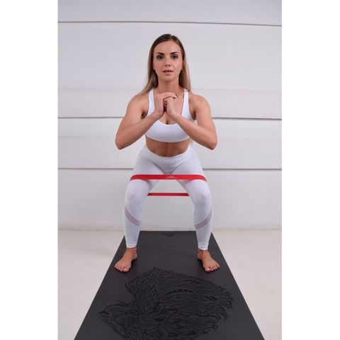 Каучуковый йога коврик для йоги Lion 185*68*0,4 см