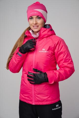 Утепленная куртка Nordski Motion Raspberry W женская
