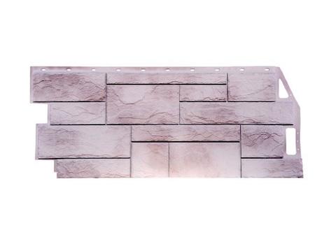 Фасадная панель Камень природный - Жемчужный