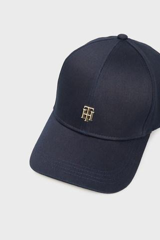 Женская синяя кепка TH CAP Tommy Hilfiger