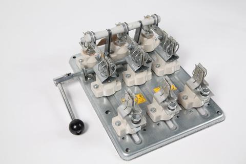 РПБ-1/1Л У3 TDM (100А,  левый привод, без плавких вставок)