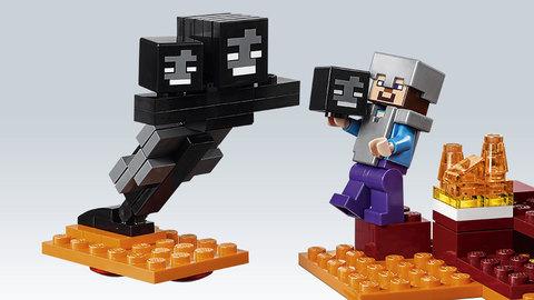 LEGO Minecraft: Иссушитель 21126 — The Wither — Лего Майнкрафт