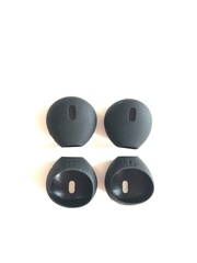 Амбушюры для Apple EarPods черные