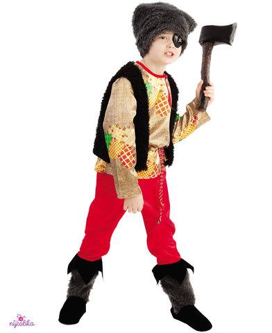1018  Карнавальный костюм Разбойник с топором
