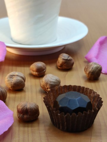 Конфеты шоколадные из кэроба с Фундуком, без сахара 60 г