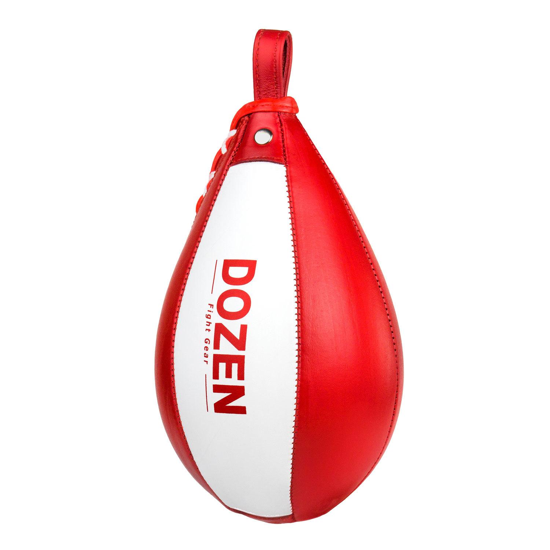 Пневматическая груша Dozen Absolute красно-белая обратная сторона