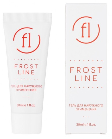 Охлаждающий гель Frost Line (Фрост Лайн), 30 г