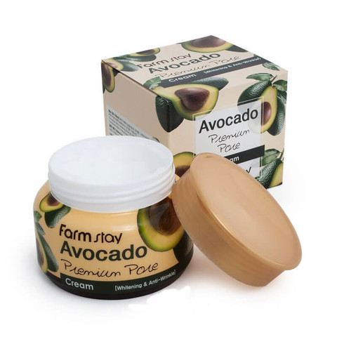 Лифтинг-крем с экстрактом авокадо FarmStay Avocado Premium Pore Creamm, 100 ml