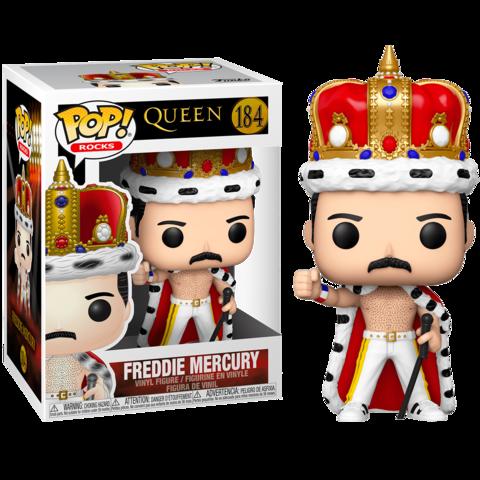 Freddie Mercury #184 Funko Pop! (Queen) || Фредди Меркьюри Король
