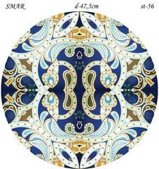 Эскиз для росписи, Круг диаметр-47,5см, SMAR-st-56