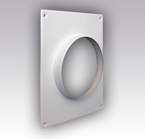 100ПТМ Торцовая площадка стальная 175*236/ф100 без решетки, с полимерным покрытием эмалью