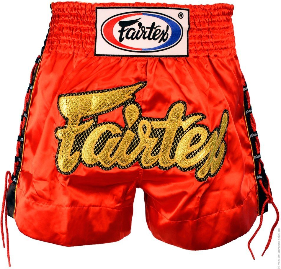 Шорты Шорты Fairtex Muaythai Shorts BS0602 Red 1.jpg